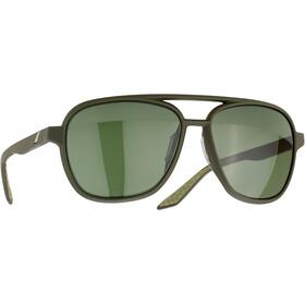 100% Kasia Aviator Round Okulary, czarny/szary